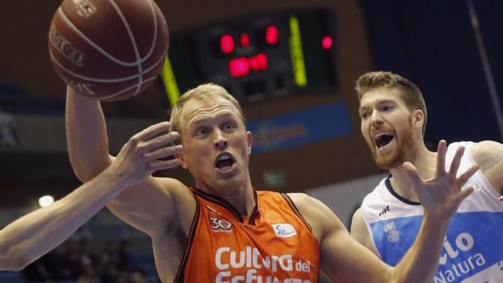Dubljevic y Diot lideran a un sólido Valencia en Santiago