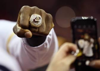 Arrancó la NBA con la gran fiesta del campeón en Cleveland