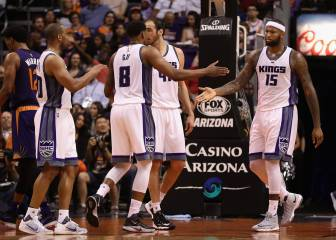 Los Kings dan la sorpresa en Phoenix: Cousins, 24 en 24min