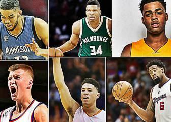Los 15 jugadores que podrían debutar como all stars en 2017