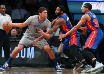Lopez (34+11) da a los Nets su segundo triunfo en 5 partidos
