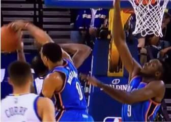 Durant vs los Thunder: pique de tapones con Westbrook