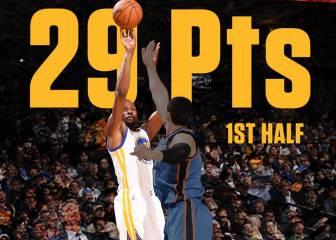 Durant alcanza a Jordan: 69 partidos con 20 o más puntos
