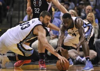 Marc tropieza con el cerrojo defensivo de los Clippers