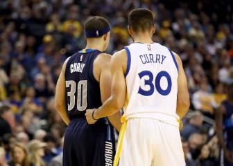 Warriors sestean y Durant caza a Jordan en el duelo de los Curry
