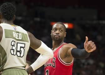 Wade regresa a Miami como conquistador; Mirotic, 10 puntos