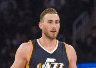 Hayward imita a Malone: 20 puntos en el triunfo 'jazz'