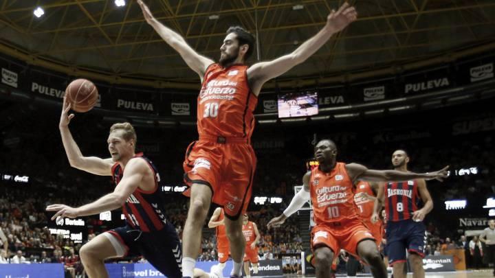 El Valencia Basket se llevó un partidazo ante el Baskonia.