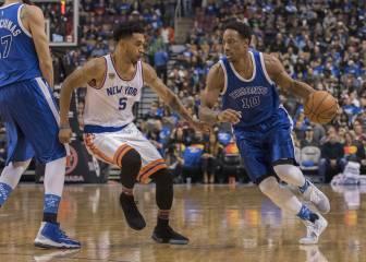 DeRozan (33) y los 'Huskies' también ganan a los Knicks