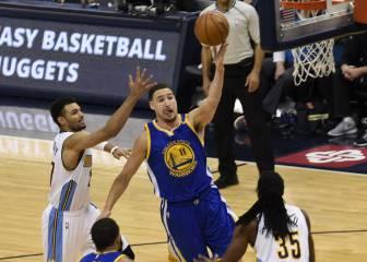 Thompson está de vuelta: la NBA tiembla ante el trío de los Warriors