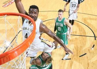 Isaiah Thomas (37) no evita el KO de los Celtics en New Orleans