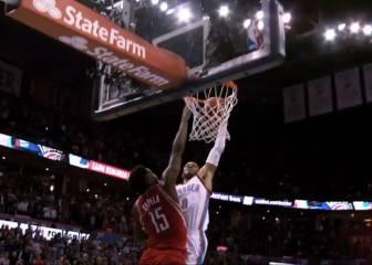 Westbrook (30+7+9) sofoca el incendio; gana el duelo de MVPs