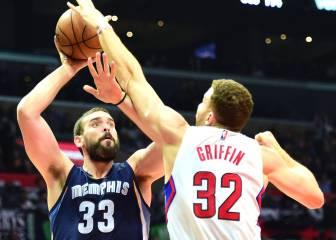 Un Marc Gasol estelar fulmina al mejor equipo de la NBA