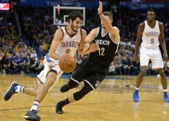 Westbrook (30+11+13) sigue haciendo historia en la mejor noche NBA de Abrines