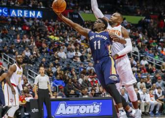 Susto de Davis y ¡paliza de los Pelicans en Atlanta!