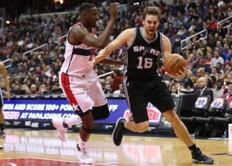 Los Spurs de Pau Gasol, 2º mejor equipo NBA: ¡10-0 fuera de casa!