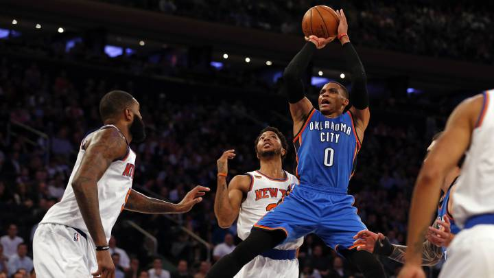 Westbrook cierra su hazaña en el Madison: ¡promedia triple-doble!