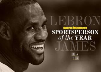 LeBron, deportista del año para SI, por 2º vez en su carrera
