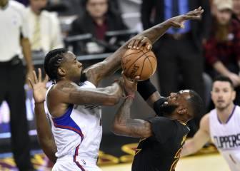 Sin noticias de los campeones: paliza de Clippers a Cavaliers