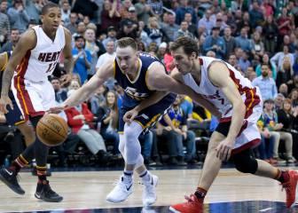 Los Heat ganan en Utah con 27 de Dragic y 55 del banquillo