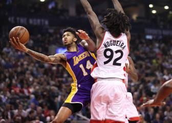 Toronto arrasa a los Lakers en la mejor noche NBA de Nogueira