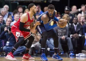 Los Mavericks aplastan a Chicago y suman la 4ª victoria del año