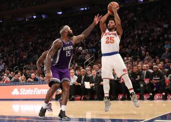 Carmelo Anthony y los Knicks sobreviven a Demarcus (36+12)
