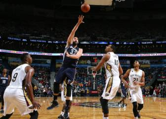 Titán Marc Gasol: triple-doble y ¡otro triple decisivo!