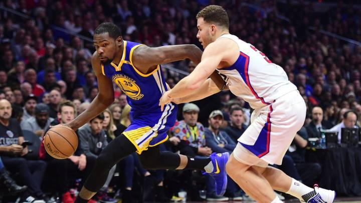 Los Warriors juegan con los Clippers; están a \