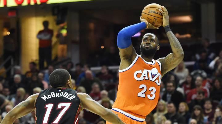 LeBron James, noveno máximo anotador histórico de la NBA