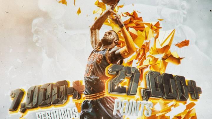LeBron (44+9+10) acaba con los Hornets en otra noche histórica