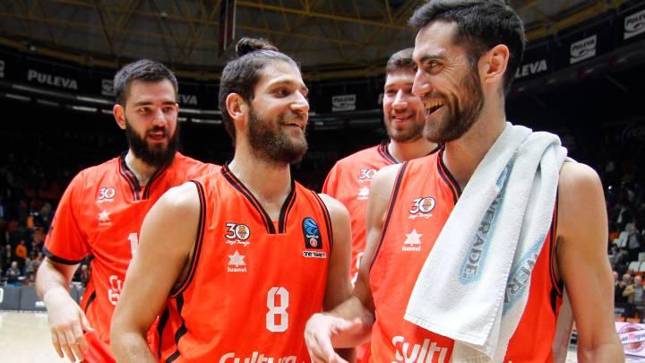 Antoine Diot celebra su game winner ante el Lokomotiv Kuban