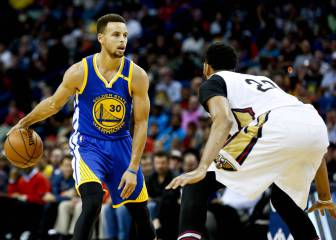 Curry y Green rescatan a los Warriors frente a los Pelicans