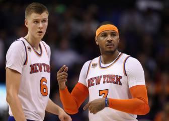 Los Knicks caen en la prórroga ante los Suns; Willy, no jugó