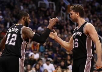 Los Spurs igualan una marca histórica con un gran Pau (18+9)