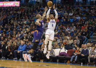 Westbrook camina al MVP a ritmo de pases: ¡22 asistencias!