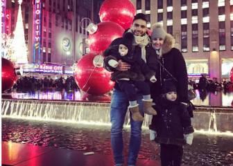 Falcao toma el testigo en Nueva York de Griezmann por Navidad