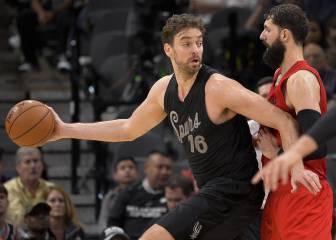 Pau Gasol y los San Antonio Spurs se vengan de unos Bulls en crisis