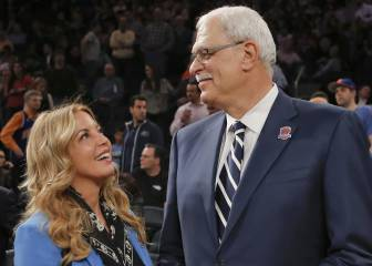 Phil Jackson (Knicks) y Jeanie Buss (Lakers) anuncian su ruptura