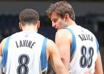 Los Wolves presumen de perlas: Towns, Wiggins, LaVine...