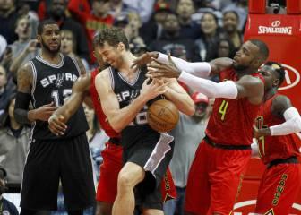 El alumno ganó al maestro; los Spurs de Pau (18) cayeron ante Atlanta tras más de seis años