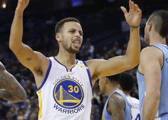 El tiro de Curry, el 'clutch time'... ¿problemas en los Warriors?