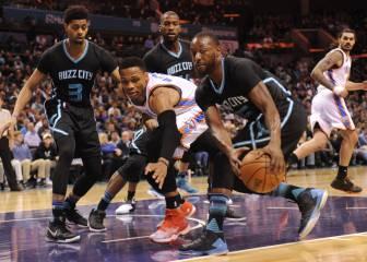 Cuarto partido de Westbrook con más de 20 tiros fallados