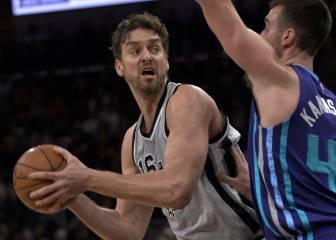 El mejor Bertans guía a los Spurs de un gris Gasol (5+5+3)