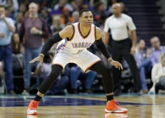 Westbrook suma y sigue: 17º triple-doble y victoria