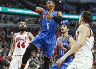 Abrines supera a un mal Mirotic y Westbrook conquista Chicago