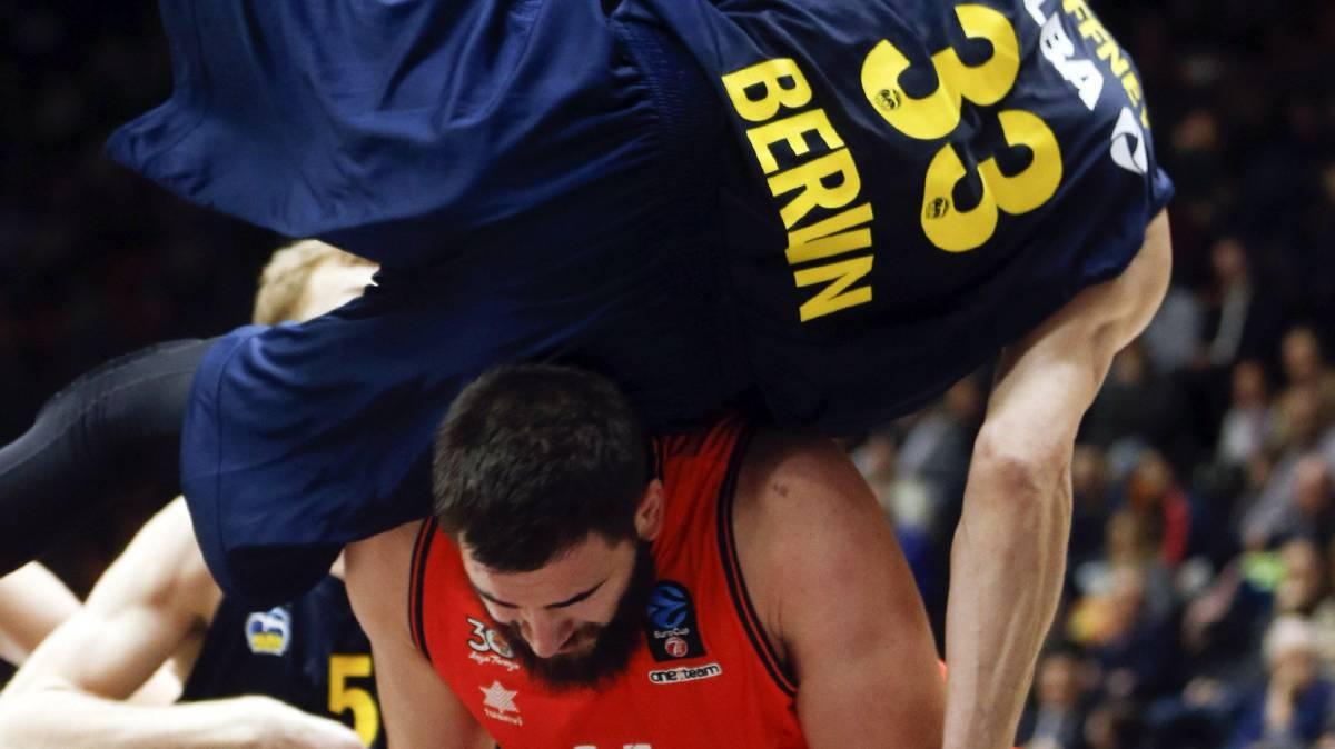 El Valencia Basket tuvo que ganar dos veces al Alba Berlin