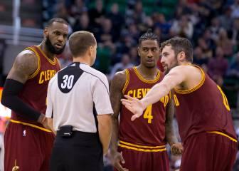 LeBron, otra vez enfadado con el criterio de los árbitros