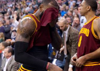 Cavaliers: 15 días sin entrenar y 5 derrotas en 9 partidos