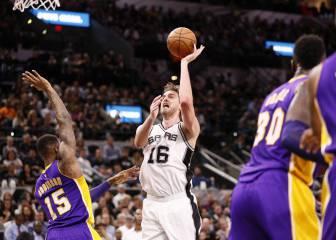 Historia de los Spurs: un perfecto Pau Gasol (22) mejora a Duncan